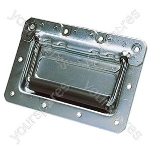 Spring Loaded Drop Case Handle - Colour Silver