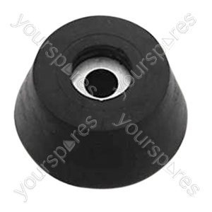 Rubber Feet with Fixing Screws Set of 4