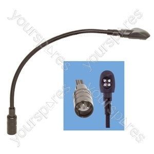 12 V Ultra Bright LED 360 mm Gooseneck with XLR Plug
