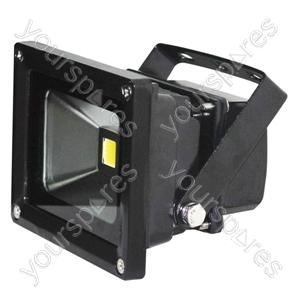 Eagle Waterproof IP65 Black Flood Lights - Lamp Type 10W LED