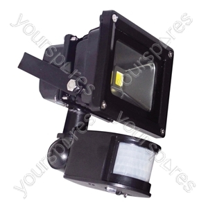 LED Flood Lights With PIR and PIR Override Facility - Lamp Type 10W LED