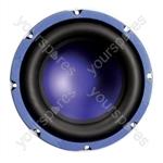 "Soundlab 8""  Chassis Speaker 200W 4 Ohm"
