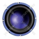 "Soundlab 12"" Chassis Speaker 300W 4 Ohm"