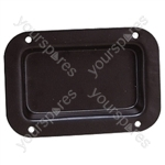 Unpunched Metal Connector Dish - Colour Black