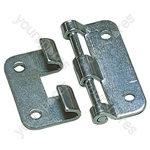 Nickel Heavy Duty Metal Lift-off Case Hinge