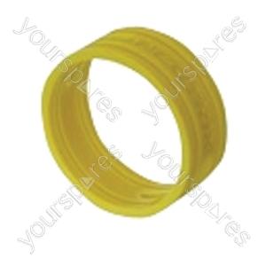Neutrik XXR XLR Coding Ring For XX Series.   - Colour Yellow