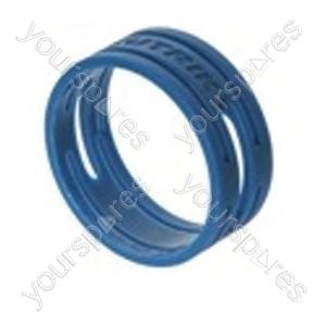 Neutrik XXR XLR Coding Ring For XX Series.   - Colour Blue