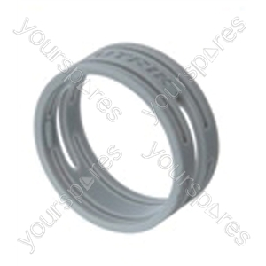Neutrik XXR XLR Coding Ring For XX Series.   - Colour Grey