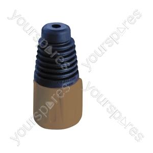 Neutrik BSX XLR Back Boot - Colour Brown