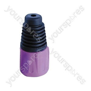 Neutrik BSX XLR Back Boot - Colour Purple