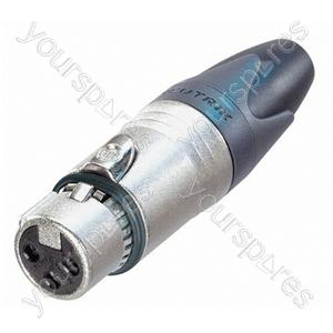Neutrik NC3FXX-EMC Female 3 Pin XLR Line Connector With LC Filter
