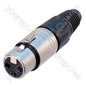Neutrik  NC3FX-D Female 3 Pin XLR Line Socket