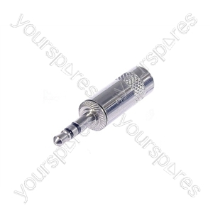 REAN NYS231 3.5 mm Stereo Metal Jack Plug