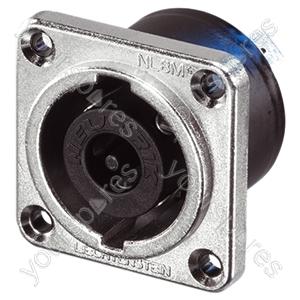Neutrik NL8MPR 8 Pole Speakon Chassis Connector