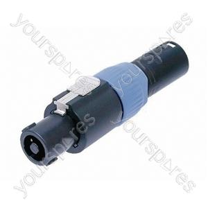 Neutrik NA4FX-M 4, Pole Speakon Cable Connector to 3 Pole Male XLR