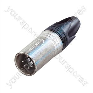 Neutrik NC5MXX 5 Pin XLR Line Plug Connector