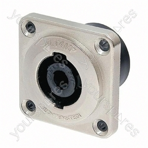 Neutrik NLT4MP 4 Pole 40A Chassis Connector