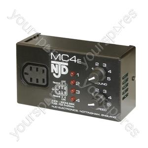 NJD MC4E 4 Channel Controller