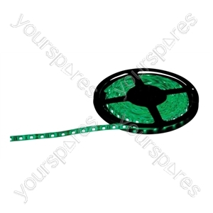 NJD Coloured Extra Flexible LED Tape light IP65 5M - Colour Green