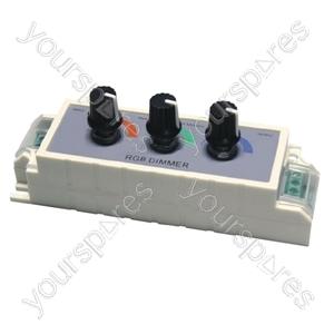 12 V Dimmer for RGB Colour LED Tape