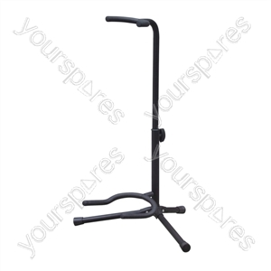 Floor Standing Electric Guitar Stand with Tripod Base