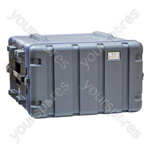 NJS ABS Rack Case - Rack Size 6U