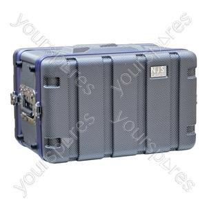 NJS Short ABS Rack Case - Rack Size 6U