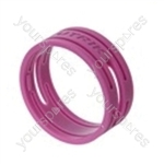 Neutrik XXR XLR Coding Ring For XX Series.   - Colour Purple
