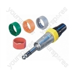 Neutrik PCR Coloured Marking Ring - Colour Yellow