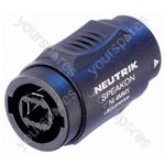 Neutrik NL4MMX 4 Pole Male-Male Speakon Coupler
