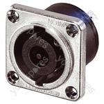 Neutrik NLT8MP 8 Pole Metal Speakon Chassis Socket