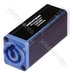 Neutrik NAC3MM 3 Pin Powercon Inlet to Outlet Coupler
