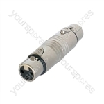 Neutrik NA3FF 3 Pin XLR female to 3 Pin XLR Female Adaptor/Coupler