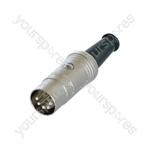 Rean NYS322AG 5 Pin Din Plug