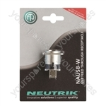 Neutrik NAUSB-W-POS USB A to USB B  Coupler in D Chassis Mounting Blister