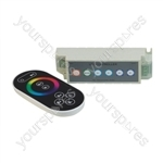 RGB Tape Wireless RF Colour Wheel Controller