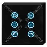 Glass Faced Touch Panel controller for RGB LED lighting