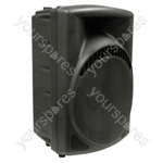 """NJS 15"""" 200w Plastic Speaker Cabinet"""