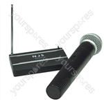 NJS VHF Handheld Radio Microphone System - Frequency MHz 174.5