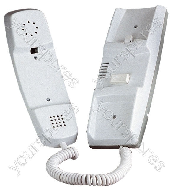 Bell White 801 Standard Door Entry Handset P665m By Bell Systems