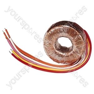 High Quality Toroidal Transformer - Outputs (V ac) 0-35, 0-35