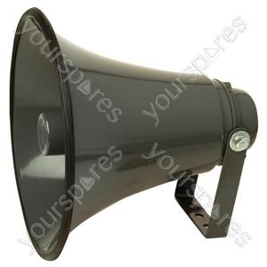 Low impedance Aluminium Horn Speaker With Adjustable Bracket - Power RMS  25