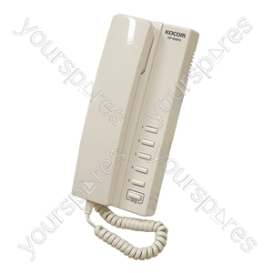 Eagle 5 Way All Master 24 VDC Handset Intercom