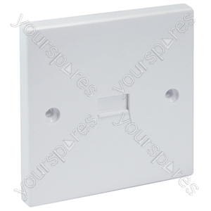Flush Mounted 3/6A Secondary Telephone Socket with Screw Connections