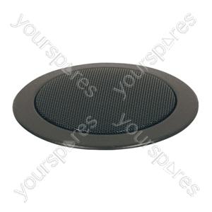 Eagle 100 V Line Compact Flush Fit Ceiling Speaker - Colour Black