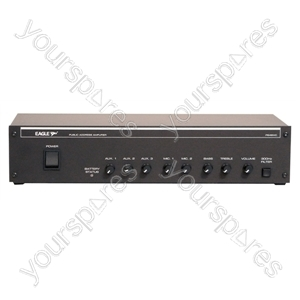 NJD 100 V Line 240 W Mixer Amplifier