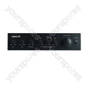 Eagle 30W RMS 100V Line PA Mixer Amplifier