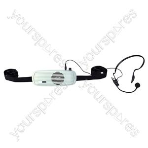 Eagle Waistband Amplifier With Headband Microphone 5W - Colour
