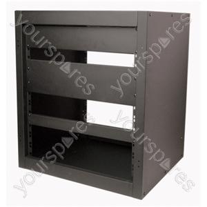 35U Steel Equipment Rack Cabinet