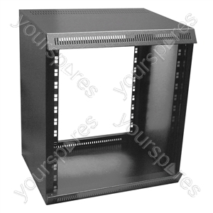 Rackz Self Assembly Bench Rack Case - Rack Size 12U